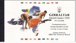 Gibraltar #682b Commemorative  Booklet MNH CV $24.50 (Z2631L)