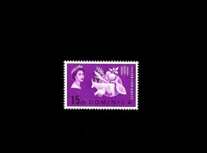 DOMINICA - 1963 - QE II - FREEDOM FROM HUNGER - # 181 - MINT - MNH SINGLE!