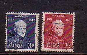 Ireland Sc 163-4  Luke Wadding stamps used