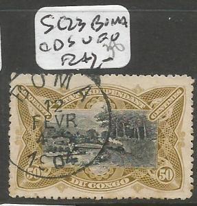 Belgian Congo SC 23 Boma CDS VFU (4cih)