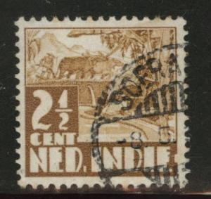 Netherlands Indies  Scott 166 used from 1934