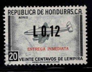 Honduras  Scott C477 Used surcharged airmail