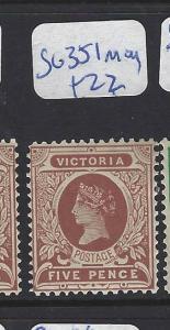 VICTORIA  (PP2803B) QV  5 D  SG 351    MOG