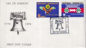 Dominica, First Day Cover, Americana