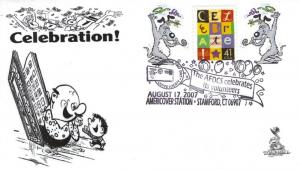 Celebrate First Day Cover, AFDCS AmeriCover cancel (2007)