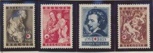 Belgium Stamps Scott #B370 To B375, Mint - Free U.S. Shipping, Free Worldwide...