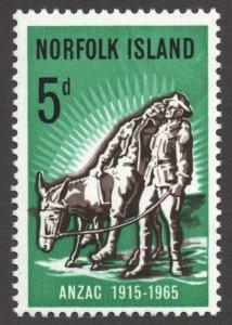Norfolk Island (1965) - Scott # 69,   MNH