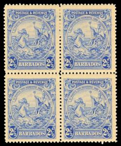 Barbados Scott 170 Gibbons 233 Block of Stamps