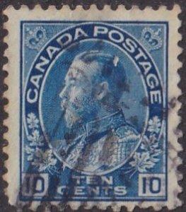 Canada #115 Used