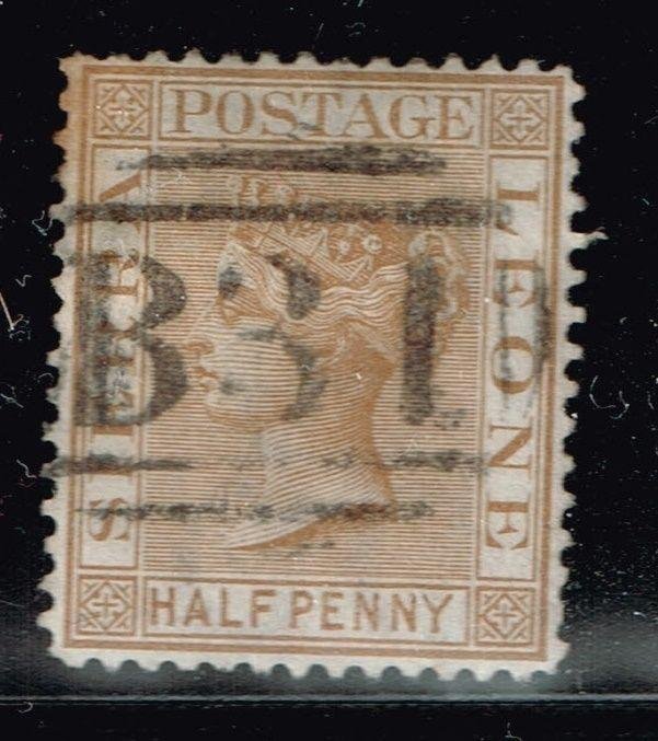 Sierra Leone SG# 16, Used  -  Lot 122115