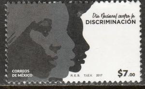 MEXICO 3069, FIGHT DISCRIMINATION. VF MNH
