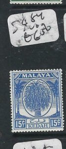 MALAYA KEDAH  (P2206B) LEAF  15C  SG  84  MOG