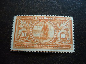Stamps - Cuba - Scott# E2 - Mint Hinged  Special Delvery Stamp