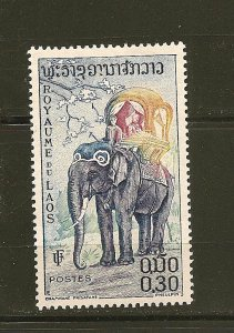 Laos 43 Elephant Mint Hinged