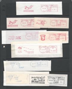 Postage Meter Slogan Strips, U.S.A.