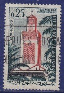 Algeria - 1962 - Scott #293 - used - Tlemcen Mosque