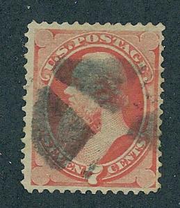 149  Used,  7c. Stanton, Lg. Banknote, scv: $90