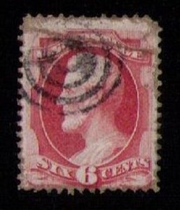 US Sc 159 Used DARKER ROSE BROWN F-VF