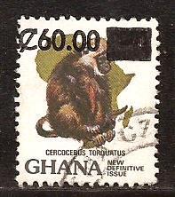 Ghana  #  1093 A  used .         B