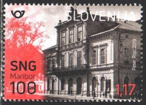 Slovenia. 2019. 1385. National theater building in Maribor. MNH.