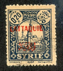 Latakia, Scott #3, Used