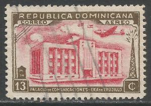 DOMINICAN REPUBLIC C50 VFU M867-4