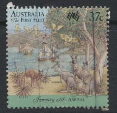 Australia SG 1107  - Used