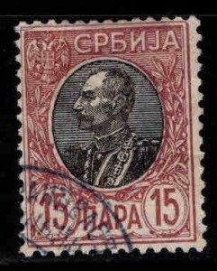 Serbia  Scott 90 Used