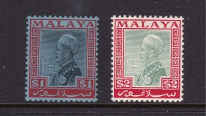 Selangor the MH $1 & $2 from 1941