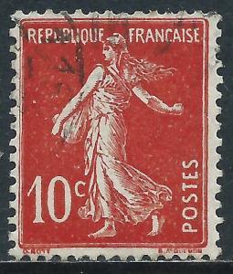 France, Sc #162, 10c Used