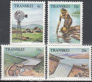 Transkei MNH 58-61 Water Resources 1979