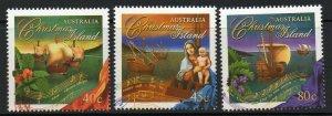 CHRISTMAS ISLAND SG430/2 1996 CHRISTMAS MNH