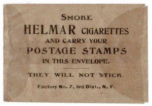 (I.B) US Cinderella : Helmar Cigarettes Stamp Envelope