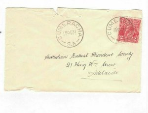 APH1438) Australia 1931 2d Red KGV Die I Small Cover