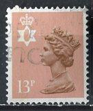 Great Britain, Regional, North. Ireland; 1986: Sc. # NIMH21: O/Used Single Stamp