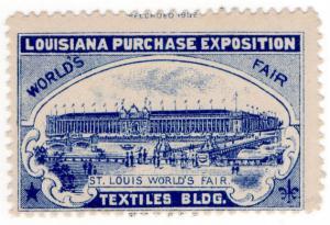 (I.B) US Cinderella : Louisiana Purchase Exposition (Textiles Building)