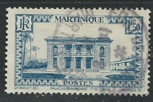 Martinique || Scott # 162 - Used