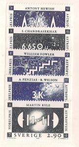 SWEDEN Sc#1661-1665 Mint Never Hinged Complete Set