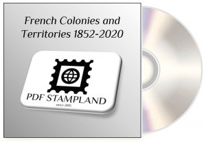 French Colonies and Territories (8 albums) 1852-2020 PDF STAMP ALBUM PAGES
