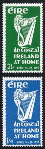 Ireland SG154/5 1953 An TOSTAL Fresh M/Mint