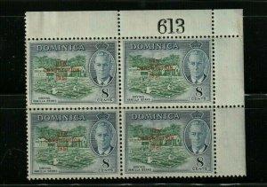 DOMINICA STAMP BLOCK 1951 SC# 139 George V;   Adoption of New Constitution