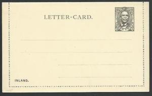 LIBERIA 3c lettercard fine unused..........................................58555