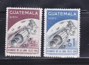 Guatemala C444-C445 Set MNH Space
