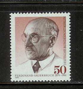 Germany Berlin 9N379 Set MNH Ferdinand Sauerbruch, Surgeon F
