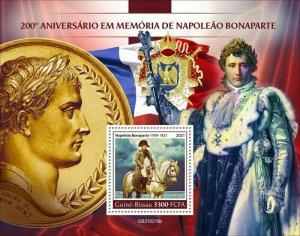 Guinea-Bissau - 2021 French General Napoleon I - Stamp Souvenir Sheet GB210219b