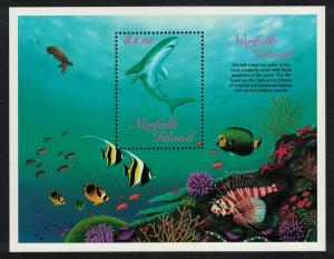 Norfolk Reef Fishes MS SG#MS678 SC#658