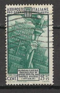 COLLECTION LOT # 5416 ITALY #B40 1935 CV+$20