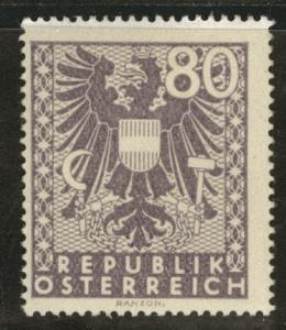 Austria Scott 450 MH** stamp from 1945 set