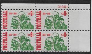 UNITED STATES SC# 1382 PL#31391 B/4 UR FVF/MNH 1969