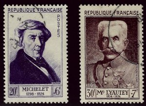 Important Semi-Postal France B280 & B281 Used VF...From a great auction!